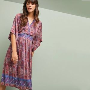 NWT Anthropologie Tiny Omina Printed Kimono Dress